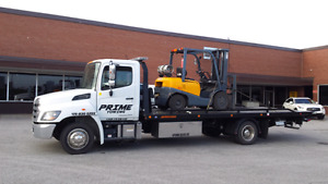 24 / 7 flatbed service available.  647 6777198