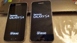 Samsung Galaxy S5 Unlocked 16GB Fido/Chatr/Freedom/Koodo/Telus