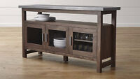 Crate&Barrel SideboardBuffet,High Table&4Chairs barely used!