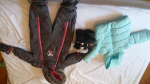 Girls snow suit and boots for sale