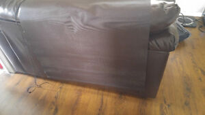 Chocolate brown roller blind 4 pieces like new
