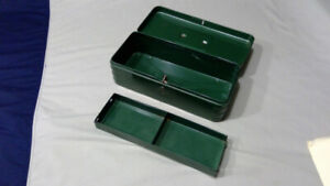 vintage cash box with cool vintage/retro design