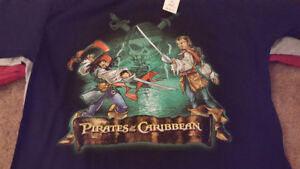 DISNEY PIRATES OF THE CARRBEAN SHIRTS