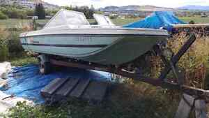 Two 14' Boat trailer w/boats