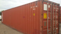 Conteneurs Maritimes Entreposage Shipping Containers Storage