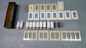 Switches, Wall Plates, Power Outlets