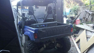 Yamaha Rhino 700 side by side North Shore Greater Vancouver Area image 3