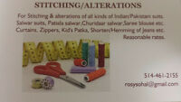 stitching &alterations