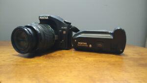 Pentax K200 + SMC Pentax DA 50-200mm + D-BG3
