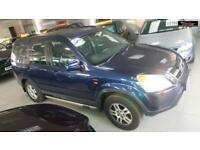 2002 HONDA CR-V I-VTEC SE SPORT Blue Manual Petrol
