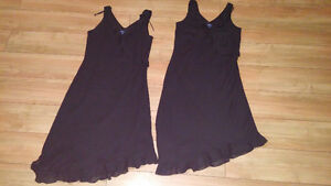 2 little black dresses