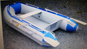 Nearly New 7.5 ft Seabright Inflatable w/ 2.5 hp OB