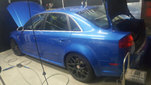2007 Audi RS4 Quattro Sprint Blue