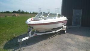 17 ft Glastron 140 HP Inboard Bowrider