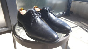 Allen Edmonds Black Leather Dress Shoes - Size 11.5 D