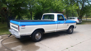 1974 Ford F250 Camper Special