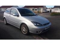 2004 54 FORD FOCUS 2.0 ST170 3 DOOR.GREAT LOW MILEAGE EXAMPLE.FULLMOT.PX WELCOME