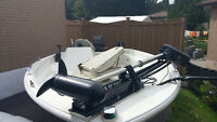 CUTTER PROFISHER 155 FIBERGLASS SEMI-PRO BASS BOAT 40HP FORCE