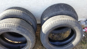 235/60/17 tires free to anyone who can use them ..