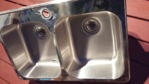 Blanco Brand New Stainless Steel Double Undermount Sink