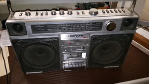 Boombox Clairtone 7978 and Prosonic 9850