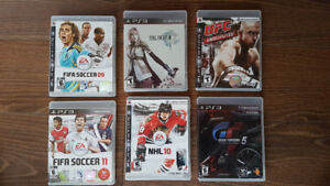 Play Station 3 jeu video / video games $5 chaque/each