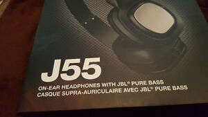 JBL J55 High-Performance On-Ear Headphones with JBL Drivers and