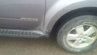 Body Work Needed on Grey Ford Escape