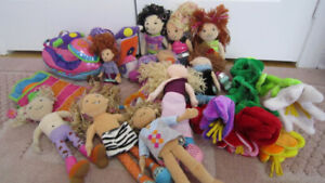 10 Manhattan Toy Groovy girl dolls lot + accessories