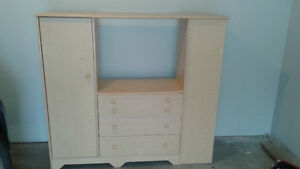 TV Entertainment Center with lots of storage