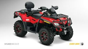 Used 2012 Bombardier can-am outlander max xt 650
