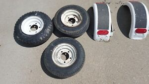Utility Trailer Tires, Rims and Fenders