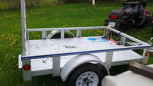Barely Used Utility Trailer for sale for $900