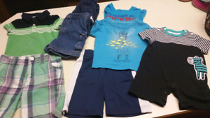 6 to 12 Months Boys Summer clothes