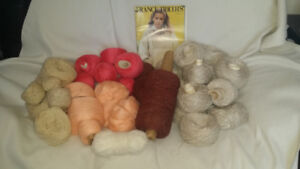 Wool, high quality, various colours - whole lot $40