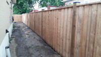 DISCOUNTED FENCE DECK AND POST HOLES 647 501 9685