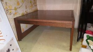 Vintange All wood over 40 years old Coffee table* *moving*