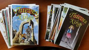 THIEVES & KINGS #1-48 NM MARK OAKLEY I BOX GREAT SERIES!