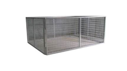 TRAILER CAGE FOR 7X4 TRAILER 900MM HIGH GALVANISED - BEST DEAL