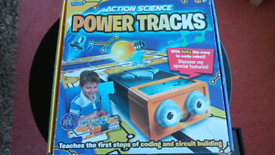 Action Science Power Tracks coding and circuit design set