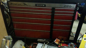 "Tool Box""Snap-on""2000 series Push Button,Big Unit and Work Table"
