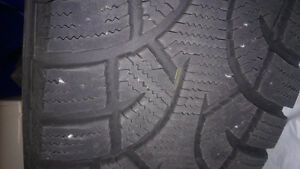 Winter Tires on Rims. Fits Ford Escape