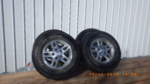 roues 16 po Jeep
