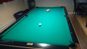 Table de billard professionnel reconditionné Black crown