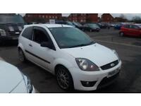 2008 58 FORD FIESTA 1.6 ZETEC S IN WHITE,GREAT LOOKING CAR,FINANCE AVAILABLE.