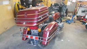 Old Goldwing luggage and chrome