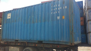 "STORAGE CONTAINERS FOR SALE IN GRADE ""A"" CONDITION"