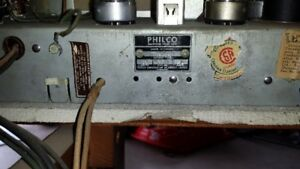 Antique Philco Radio Record player.