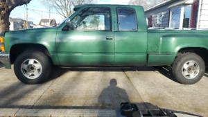 Chevy 1994 4x4 Step Side Pick Up Truck