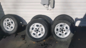 M&S tires and rims